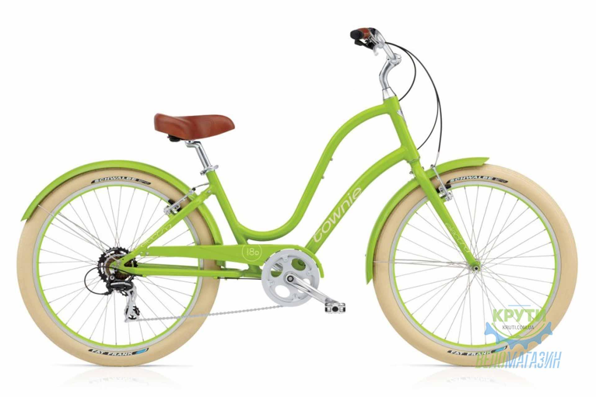 Велосипед 26 ELECTRA Townie Balloon 8D Ladies Lime