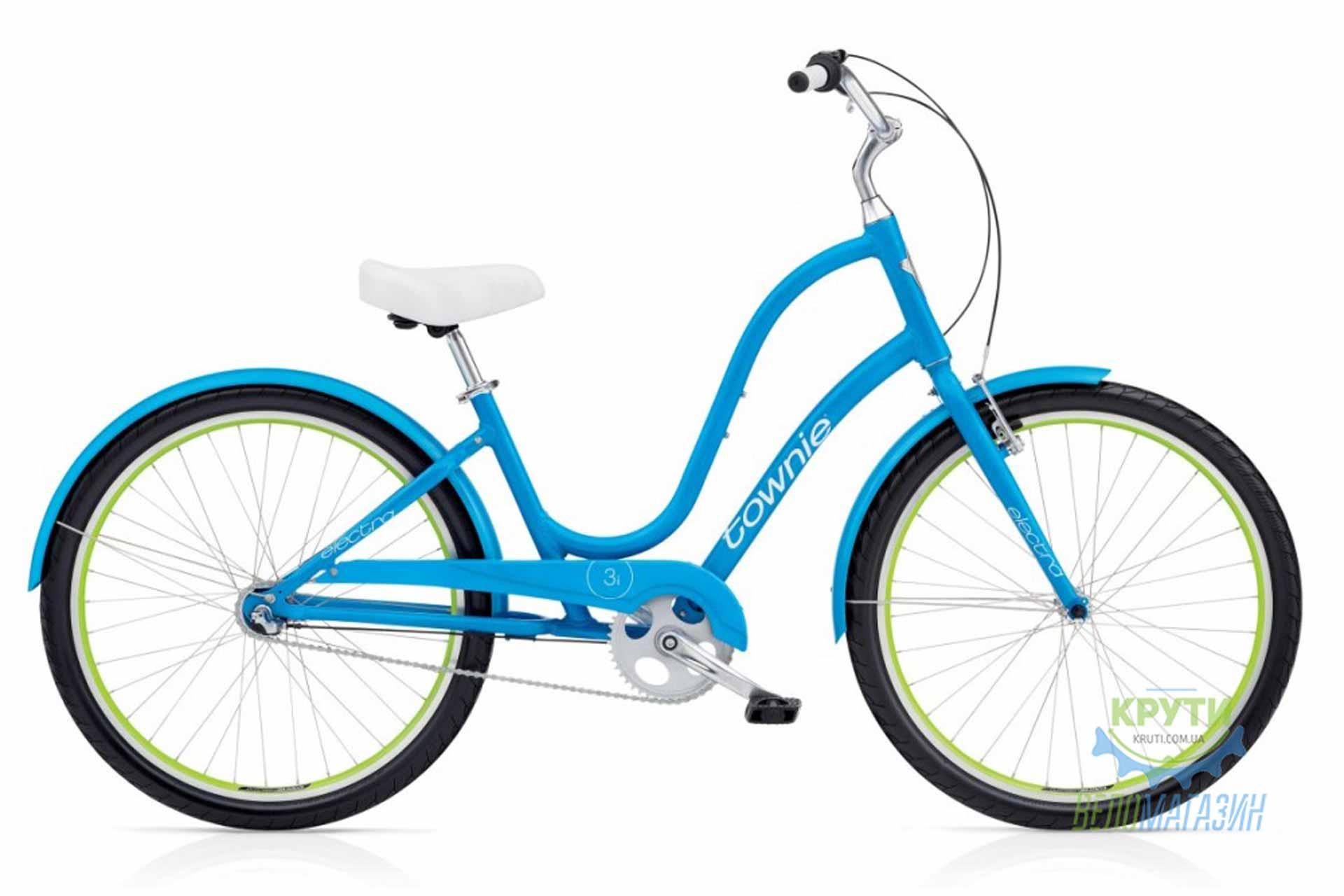 Велосипед 26 ELECTRA Townie Original 3i Ladies Caribbean Blue