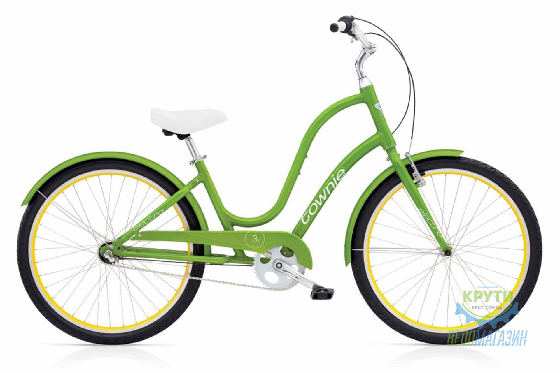 Велосипед 26 ELECTRA Townie Original 3i Ladies Leaf Green