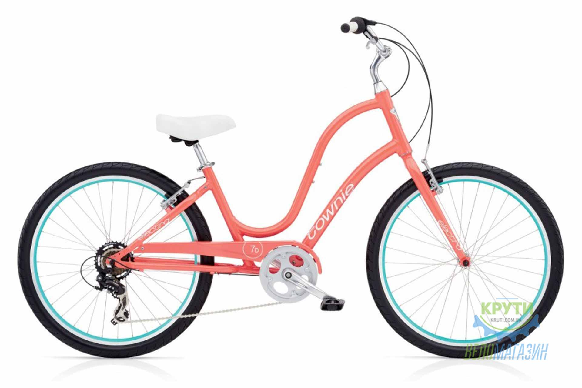 Велосипед 26 ELECTRA Townie Original 7D Ladies Coral
