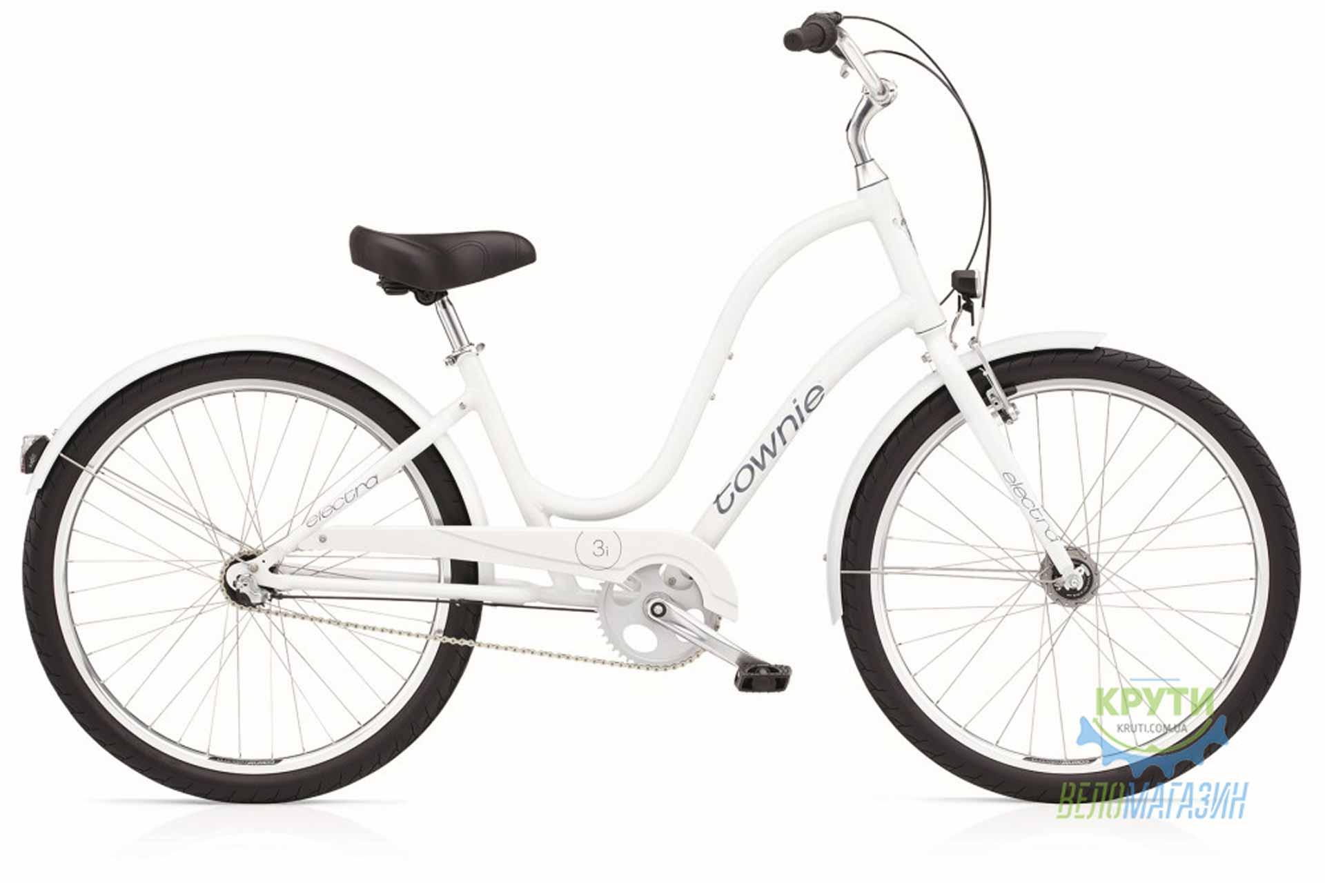 Велосипед 26 ELECTRA Townie Original 3i Ladies White