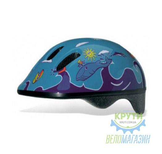 Шлем детский Bellelli FISH AZZURRO size-M (синий (море))