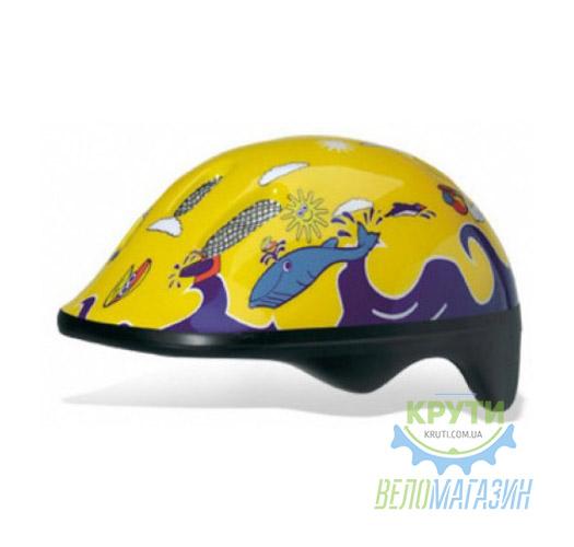 Шлем детский Bellelli FISH YELLOW size-M (желтый (море))