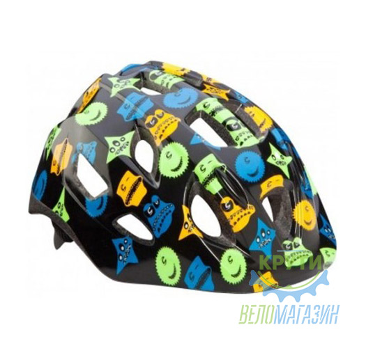 Шлем детский Cannondale QUICK MONSTERS размер S  52-57см black-blue