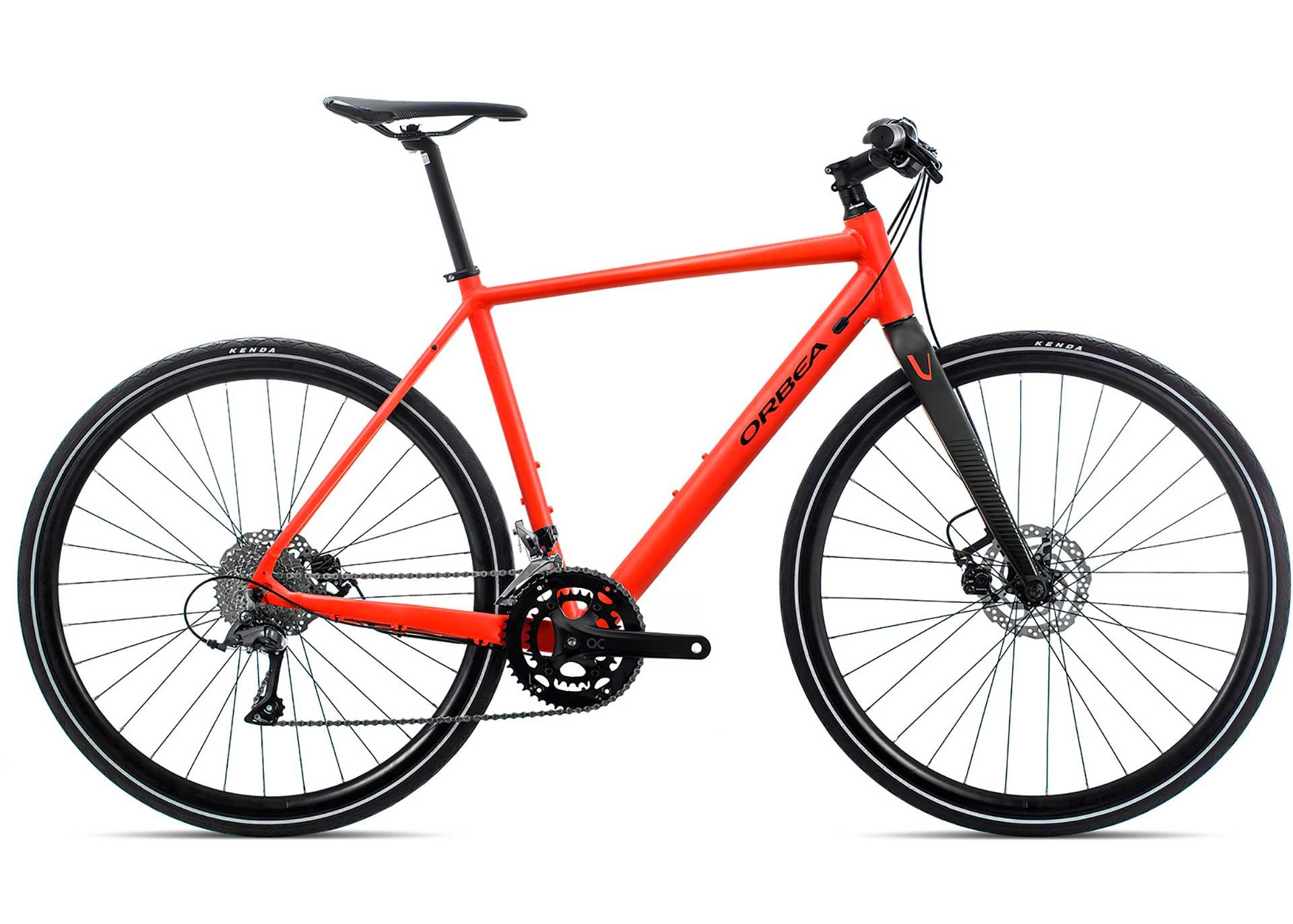 Велосипед Orbea Vector 30 S Red-Black 2020
