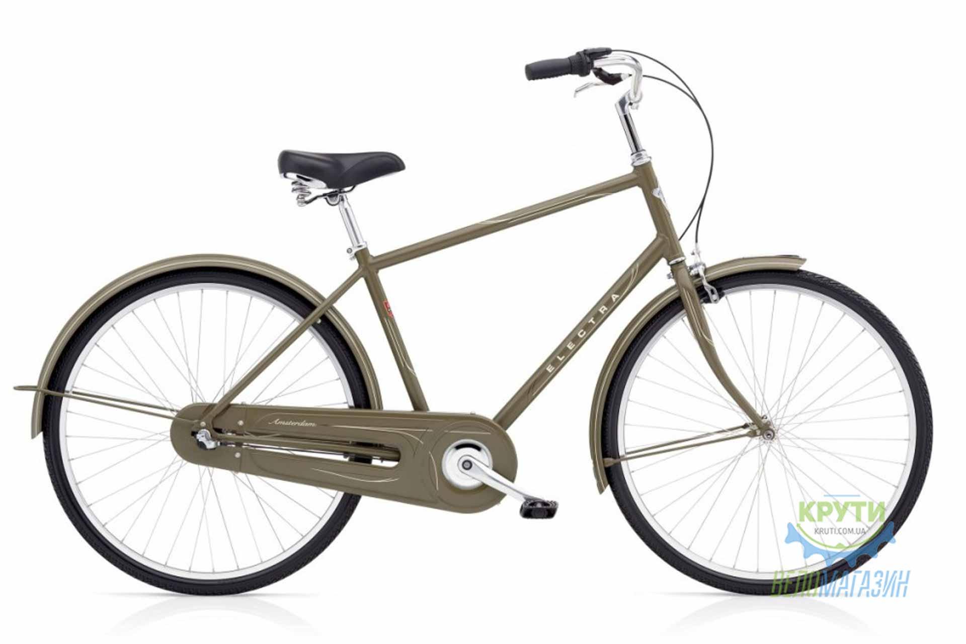 Велосипед 28 Electra Amsterdam Original 3i Men's Olive