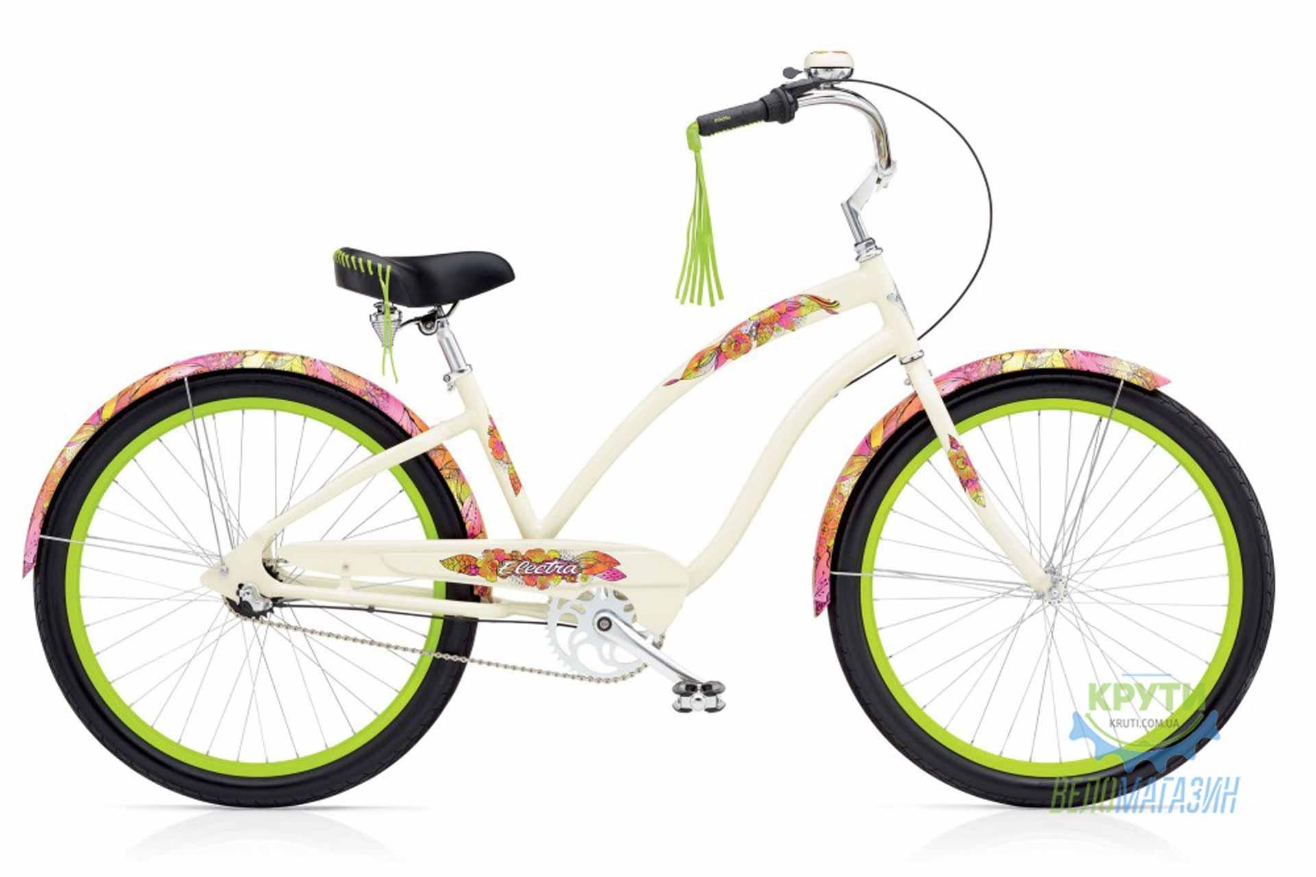 Велосипед 26 ELECTRA Sans Souci 3i Ladies Cream