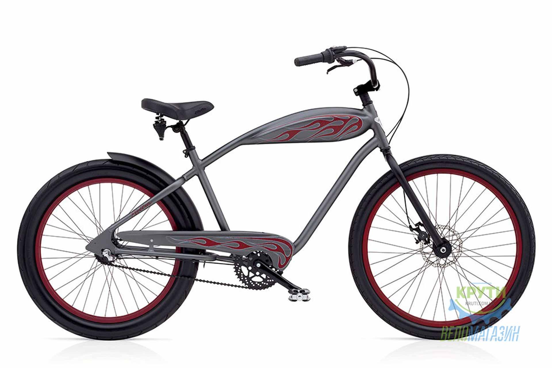 Велосипед 24-26 ELECTRA Relic 3i Menss Zinc Metallic