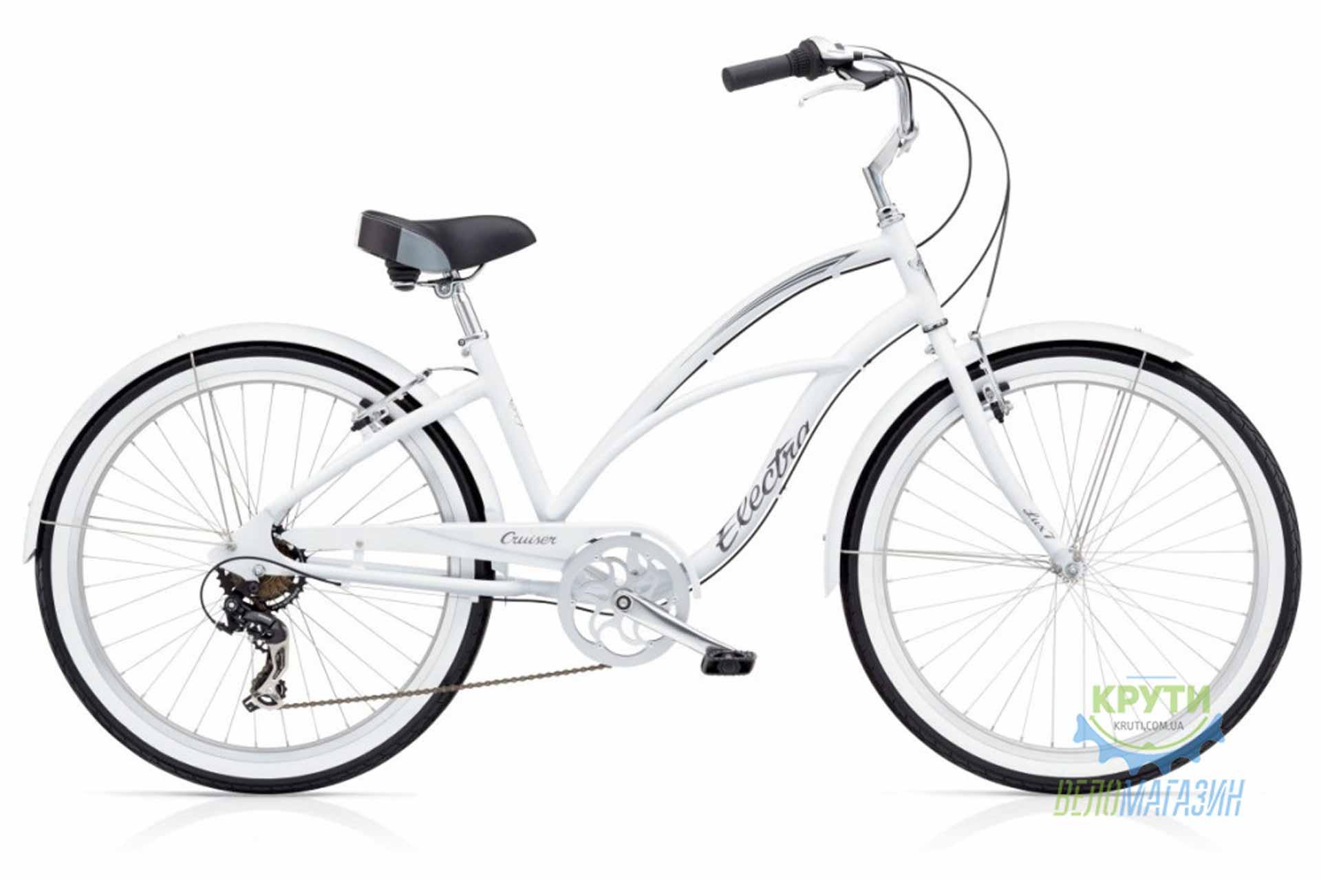 Велосипед 26 Electra Cruiser Lux 7D Ladies' White