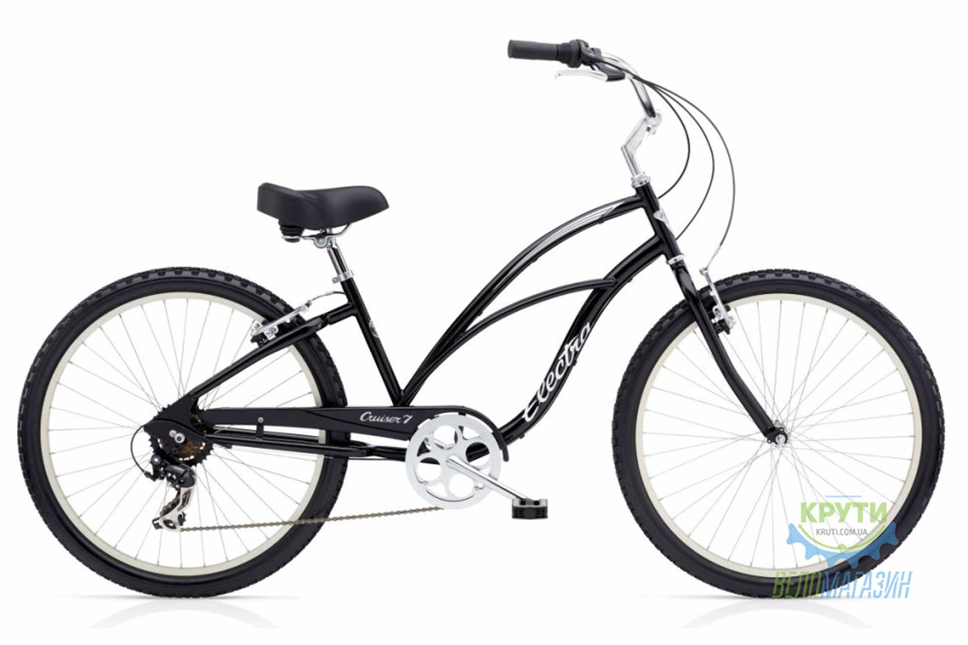 Велосипед 26 ELECTRA Cruiser 7D Ladies Black