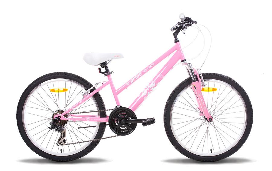 Велосипед 24 PRIDE LANNY 2014 розово-белый