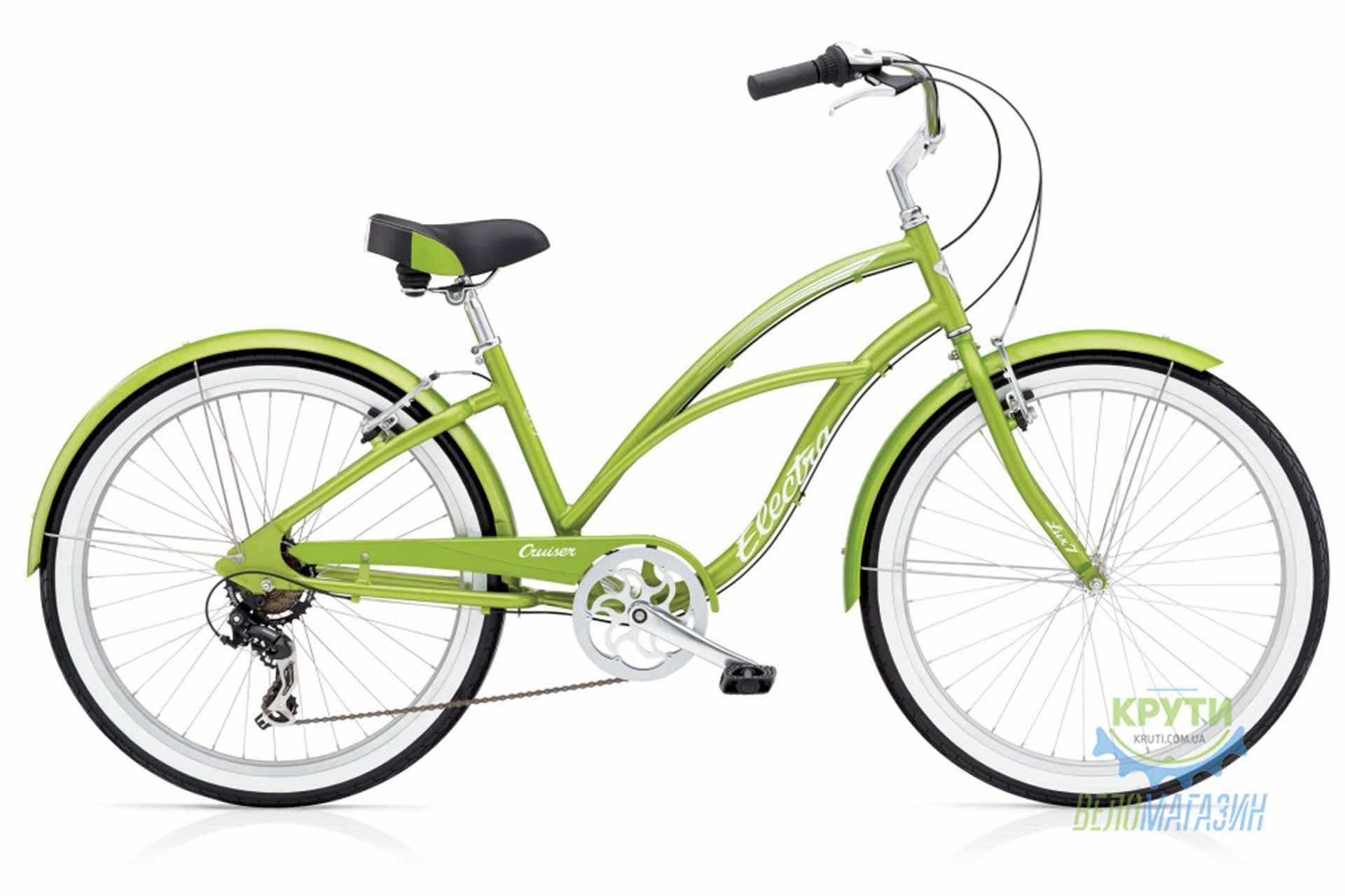 Велосипед 26 Electra Cruiser Lux 7D Ladies' Green Metallic