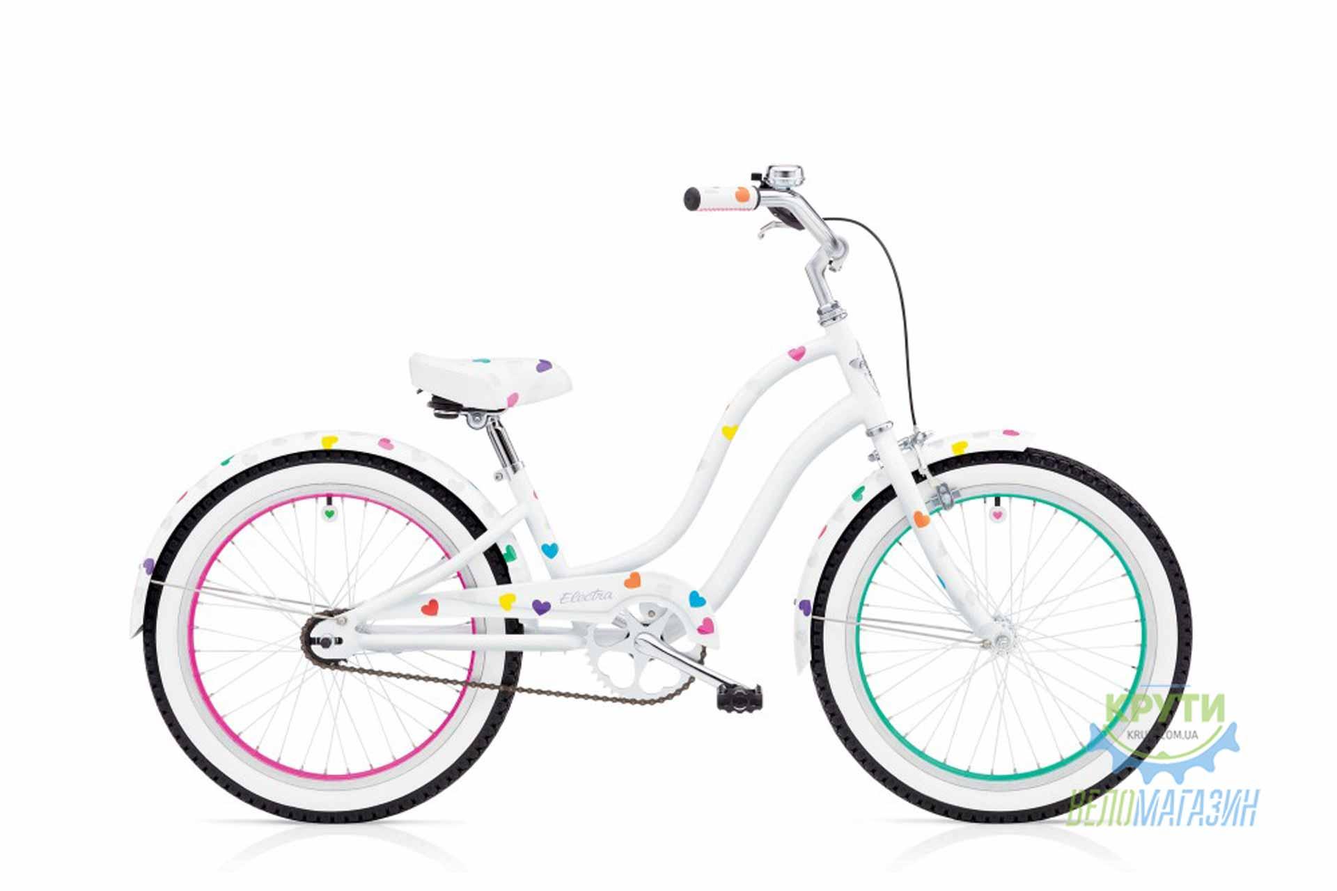 Велосипед 20 ELECTRA Heartchya 1 Speed Girls