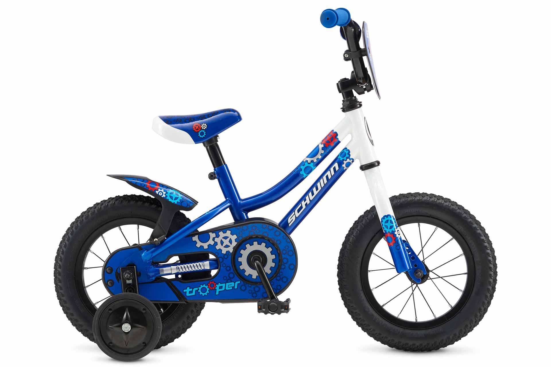 "Велосипед 12"" Schwinn TROOPER boys 2017 BLU"