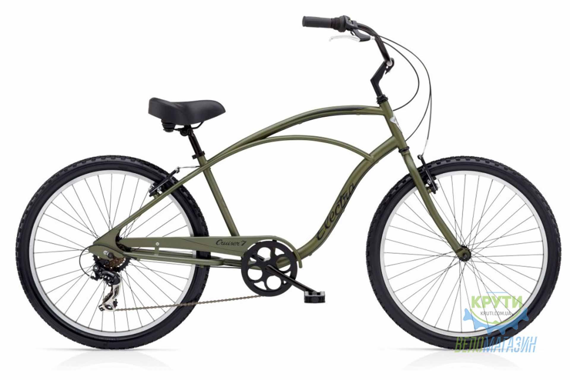 Велосипед 26 ELECTRA Cruiser 7D Men's Khaki