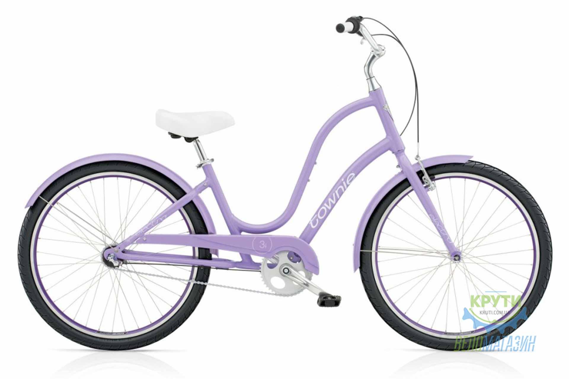 Велосипед 26 ELECTRA Townie Original 3i Ladie Purple