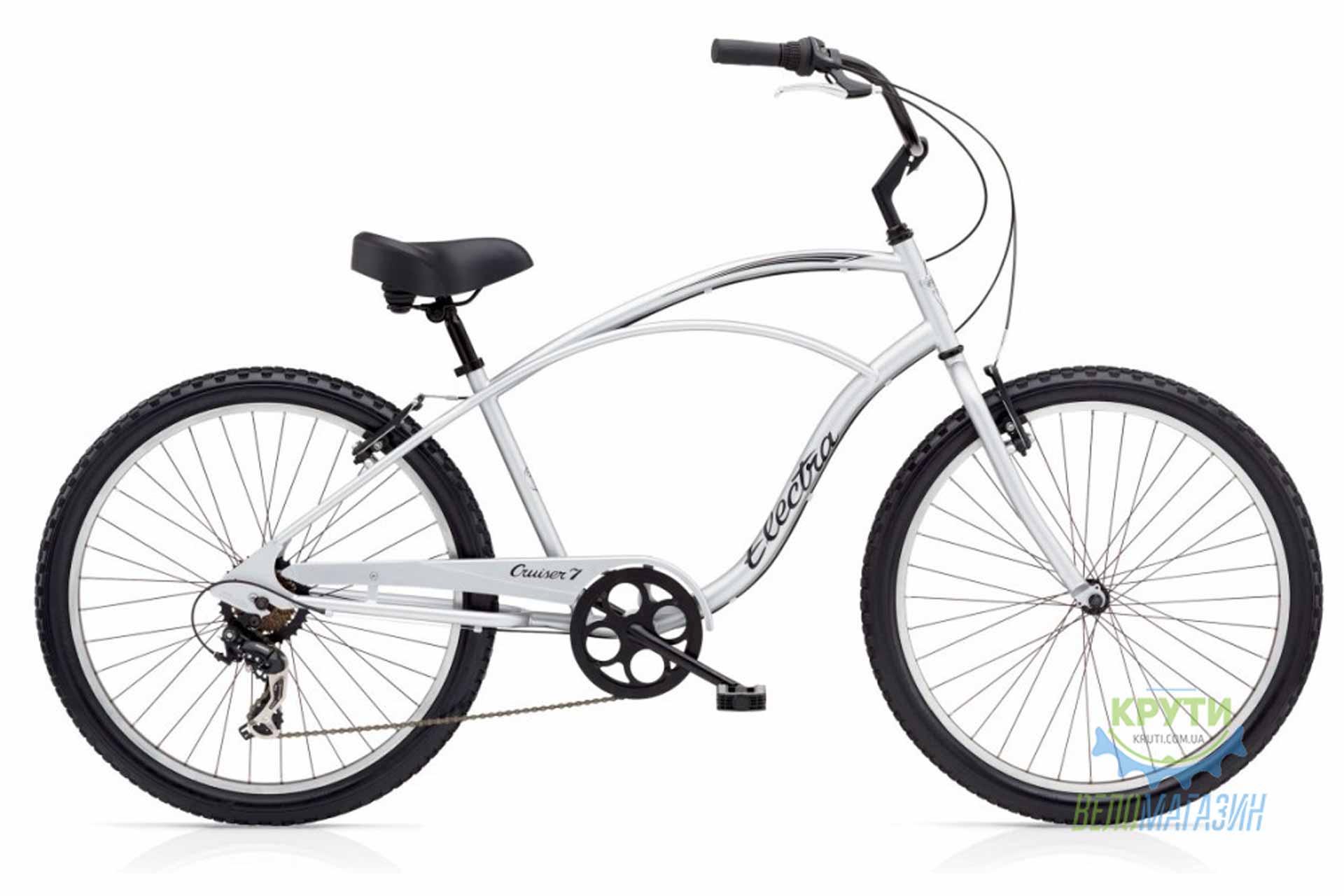 Велосипед 26 ELECTRA Cruiser 7D Men's Silver