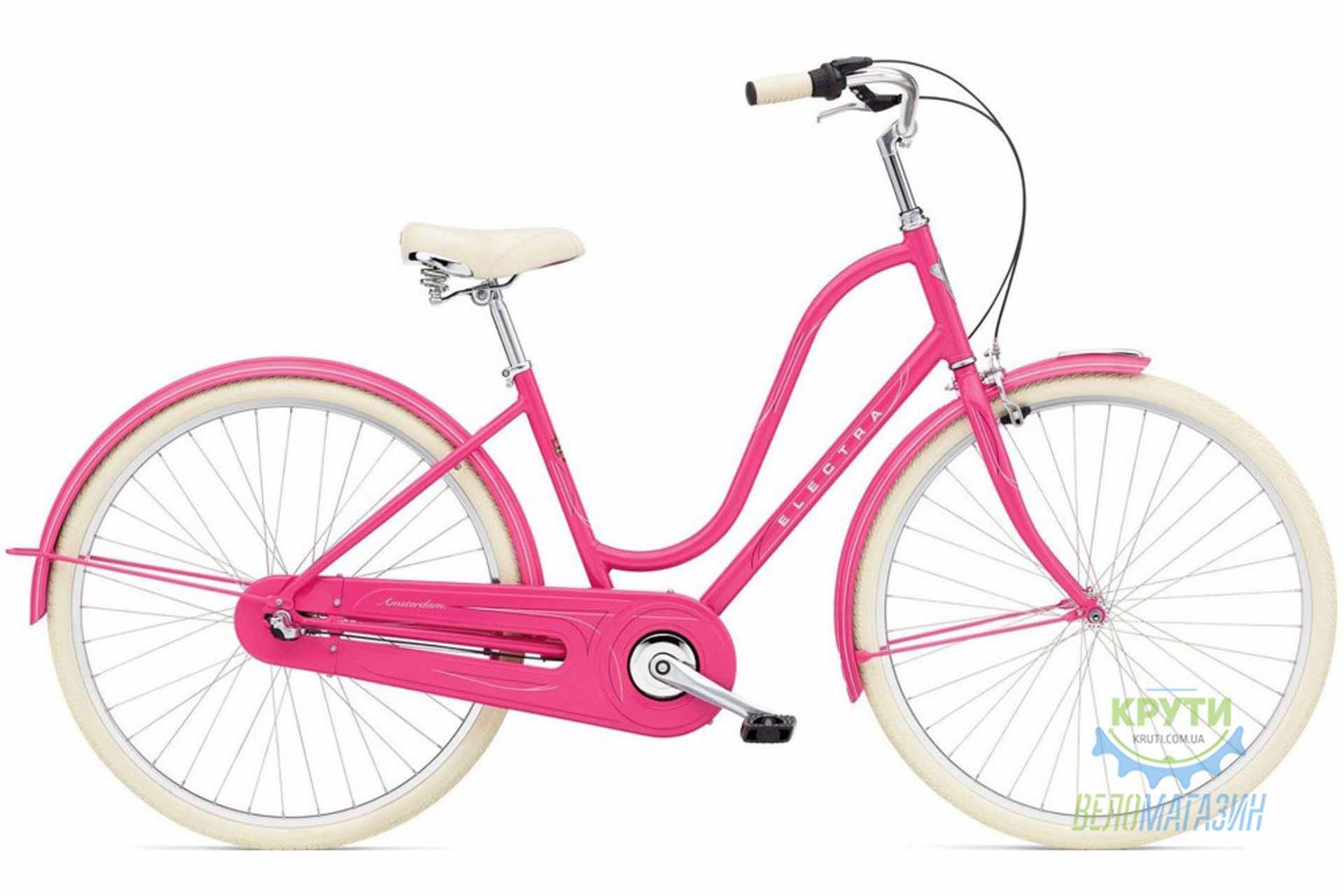 Велосипед 28 ELECTRA Amsterdam Original 3i Al Ladies Deep Pink