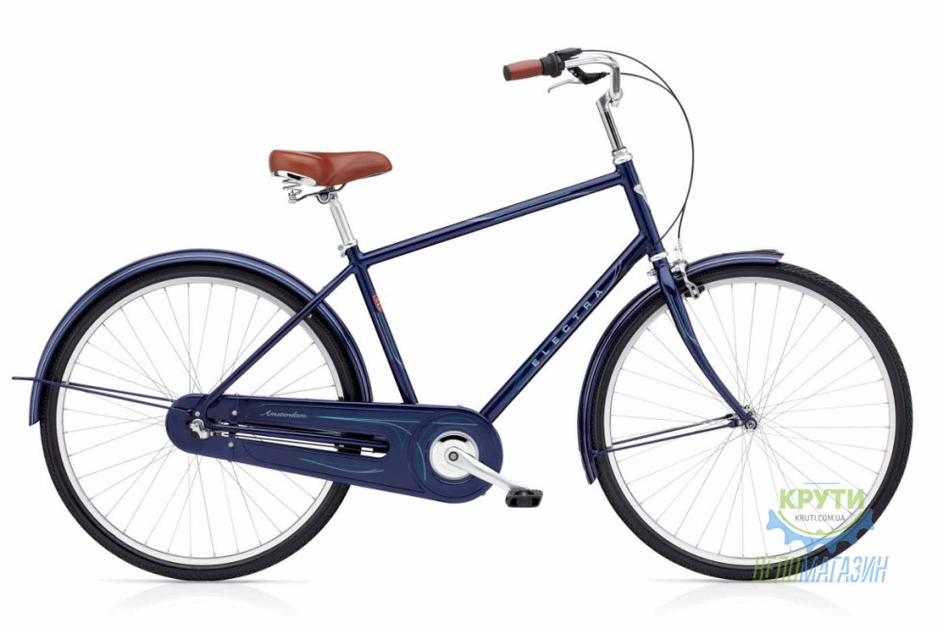 Велосипед 28 ELECTRA Amsterdam Original 3i Mens Dark Blue Metallic