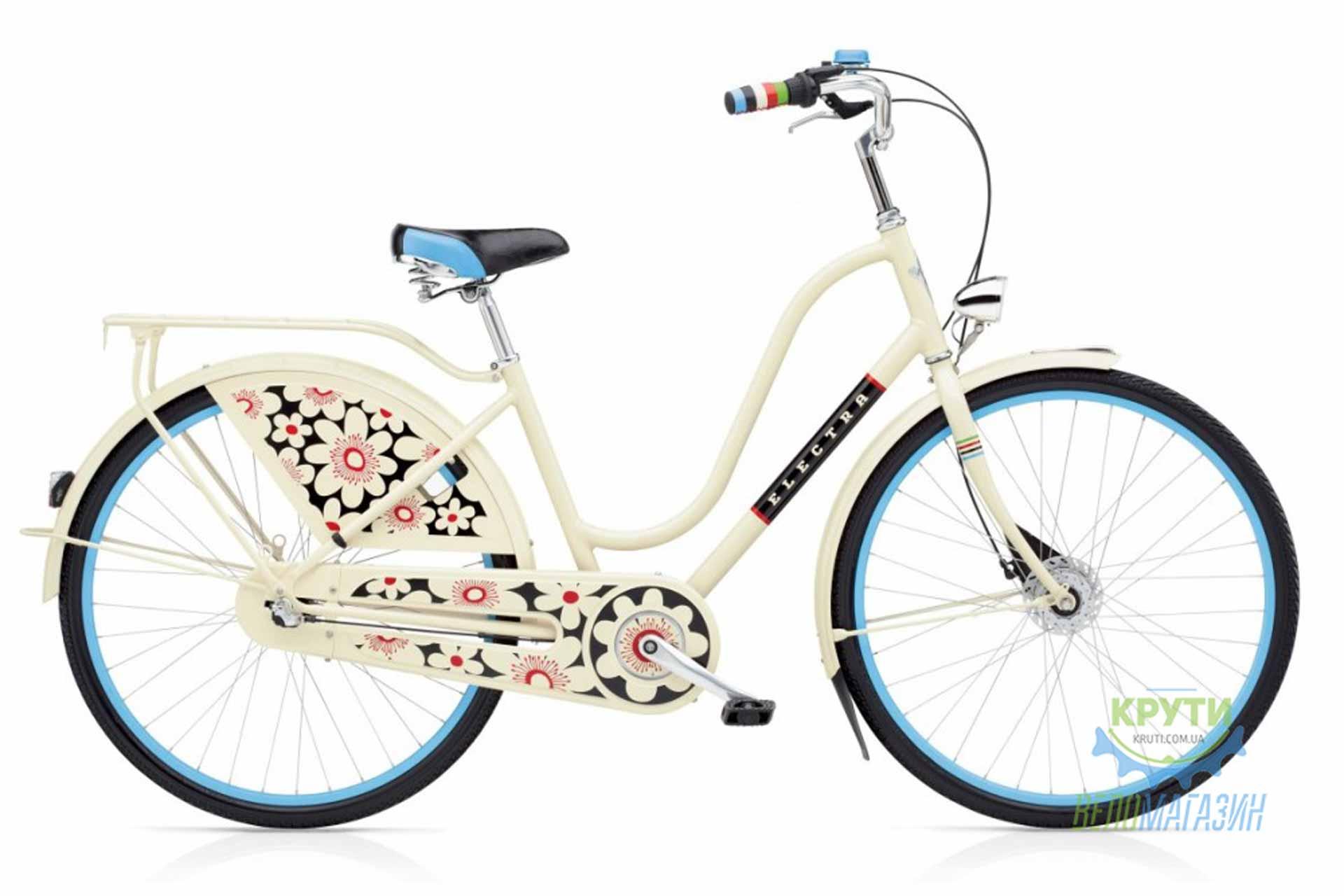 Велосипед 28 ELECTRA Amsterdam Fashion 3i Bloom Ladies Cream