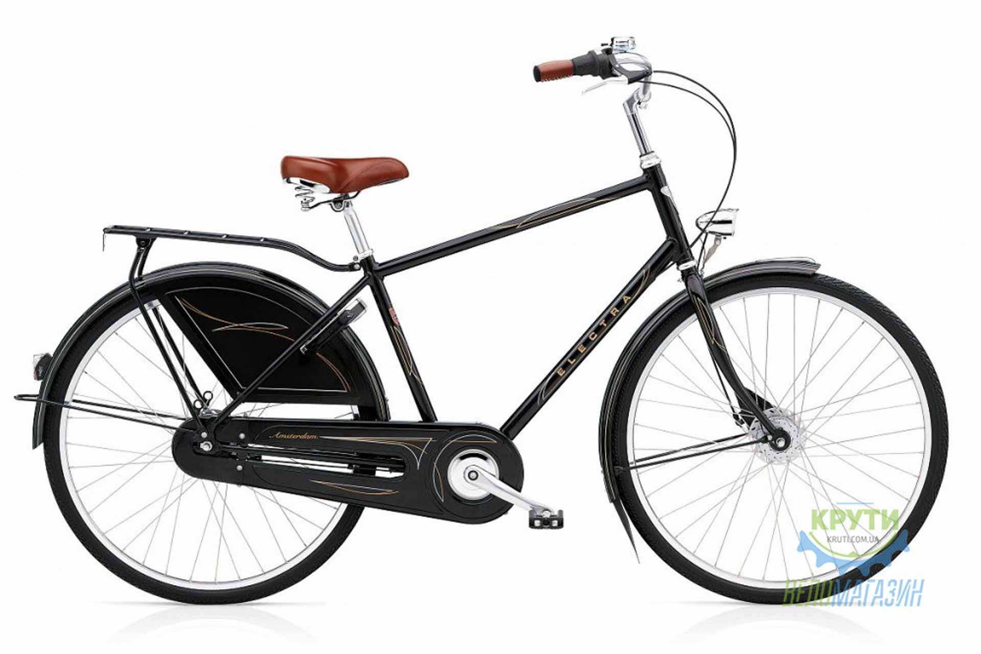 Велосипед 28 ELECTRA Amsterdam Royal 8i (Алюм) Men's Black