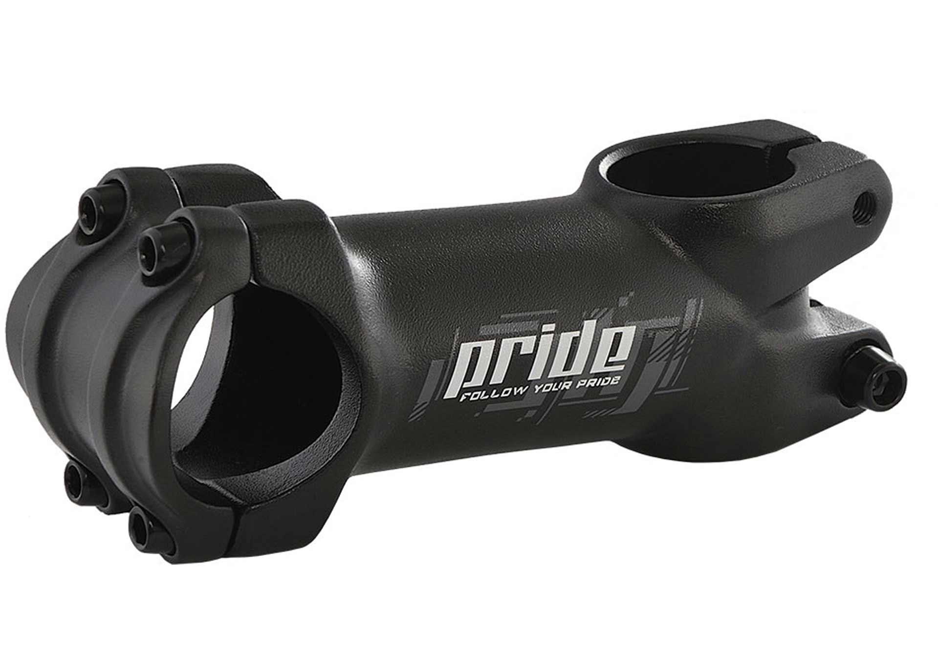 Вынос руля PRIDE AS-DC1, 31.8mm, под шток 1-1/8'', 105mm, 7°, черный