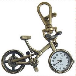Брелок Сувенир Велосипед Часы
