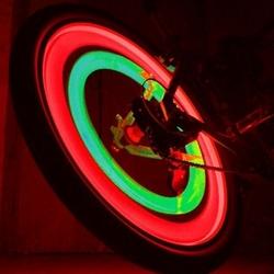 Подсветка колеса  red blue green