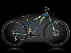 Велосипед Bergamont 14; 26; Kiez Flow, (8140) 33см (S) petrol/neon yellow/neon green (matt)