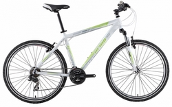 Велосипед 26 PRIDE XC-26 white-lemon 2013