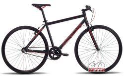Велосипед 28 PRIDE Bullet 18 2014 черно-красный