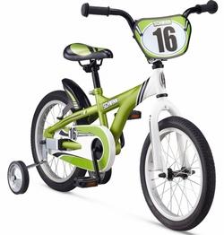 Велосипед 16 Schwinn Gremlin Boys 2014 green