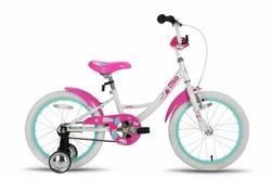 Велосипед 18 PRIDE MIA бело-розовый 2015