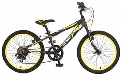 Велосипед 20 PRIDE JOHNNY 2014 черно-желтый