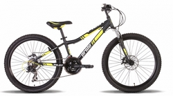 Велосипед 24'' PRIDE PILOT черно-жёлтый 2015