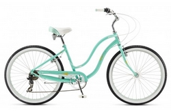 Велосипед 26 Schwinn Sprite Women 2015 light blue