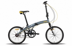 Велосипед 20'' PRIDE MINI 3sp RST серо-оранжевый 2015