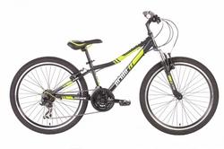 Велосипед 24 PRIDE BRAVE 2014 черно-зеленый