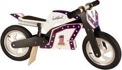 Беговел 12 Kiddy Moto Heroes деревянный, Evel Knievel