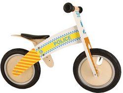 Беговел 12 Kiddy Moto Kurve полицейская машина
