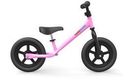 Беговел 12 Kiddy Moto Super Junior алюминиевый розовый