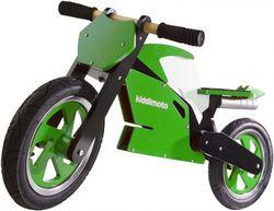 Беговел 12 Kiddy Moto Superbike зелёно-белый