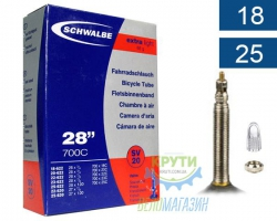 Камера 28 (18/25x622/630) Schwalbe SV20 60 мм Extra Light EK