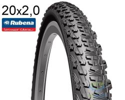 Покрышка 20 x 1.90 (50x406) RUBENA SCYLLA V75 Classic 22 черн.