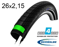 Покрышка 26x2.15 (55-559) Schwalbe BIG APPLE PLUS HS430 GreenGuard B/B+RT EC 67EPI
