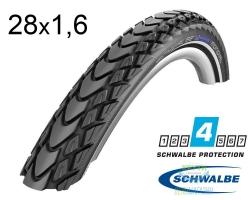 Покрышка 28x1.60 (42-622) Schwalbe MARATHON MONDIAL HS428 RaceGuard B/B-SK+RT EC 67EPI