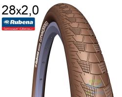 Покрышка 28x2.00 (52x622) MITAS (RUBENA) CITYHOPPER V99 Classic коричневая