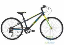 Велосипед 24 Apollo Neo boys Geared Gloss Charcoal/Gloss Lime/Gloss Blue