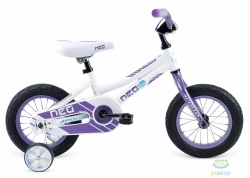 Велосипед 12 APOLLO Neo Girls Gloss White / Gloss Lavender 2017