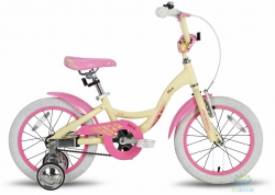Велосипед 16 PRIDE ALICE бежевый матовый 2016